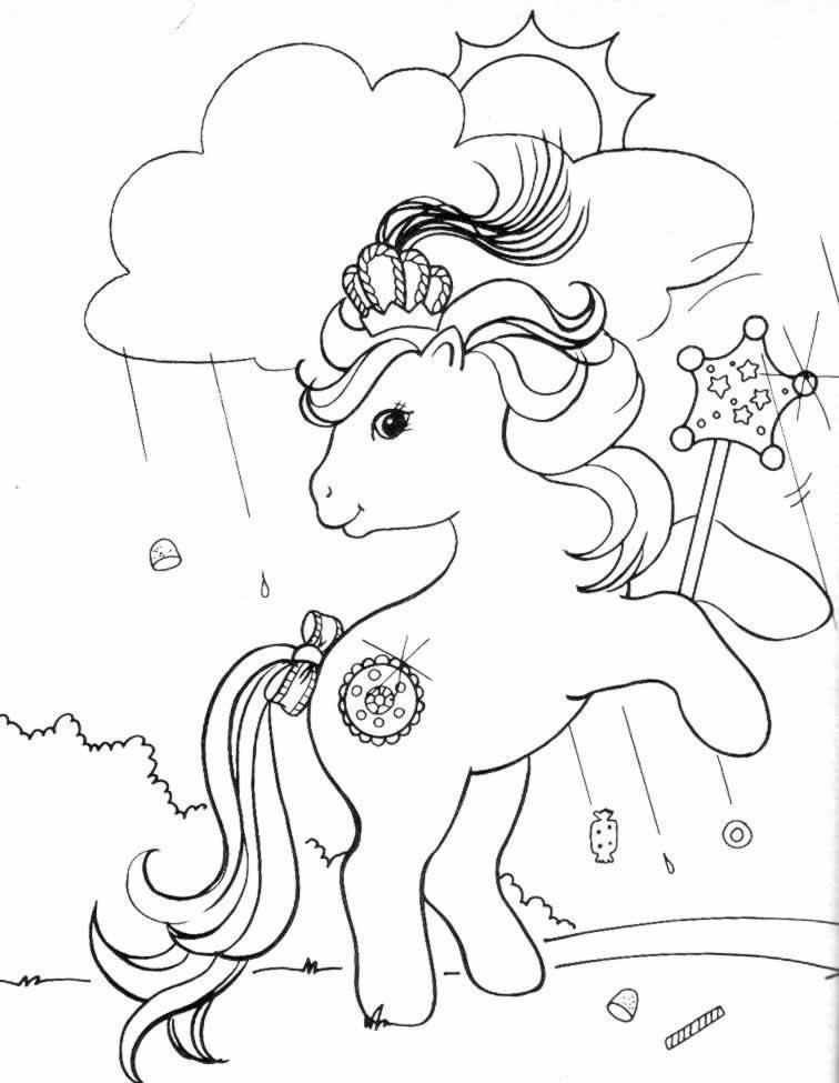 149 Dibujos De Ponis Para Colorear Oh Kids Page 2