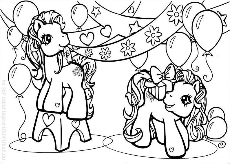 149 dibujos de Ponis para colorear | Oh Kids | Page 10