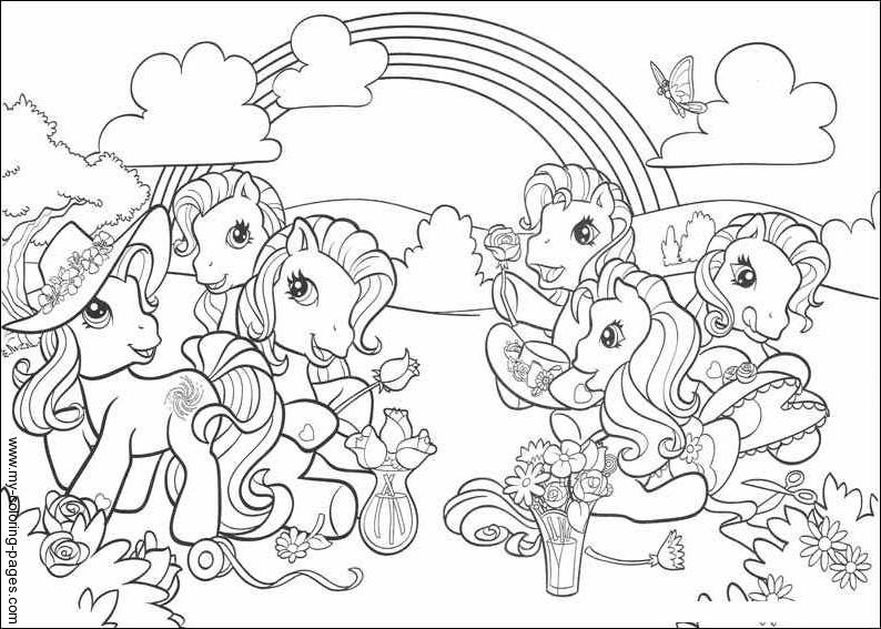 149 dibujos de ponis para colorear oh kids page 10 - My little pony gratuit ...