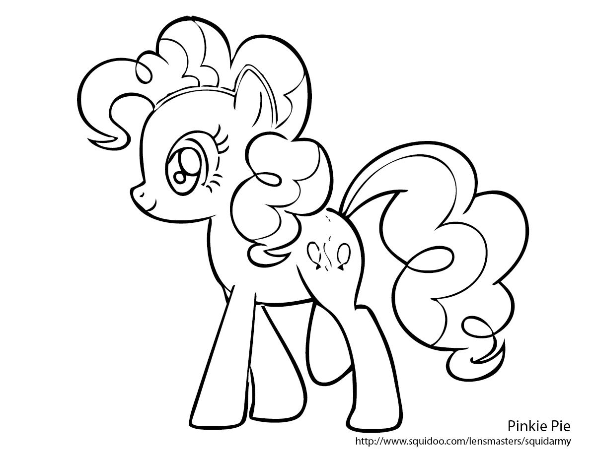 149 Dibujos De Ponis Para Colorear Oh Kids Page 16