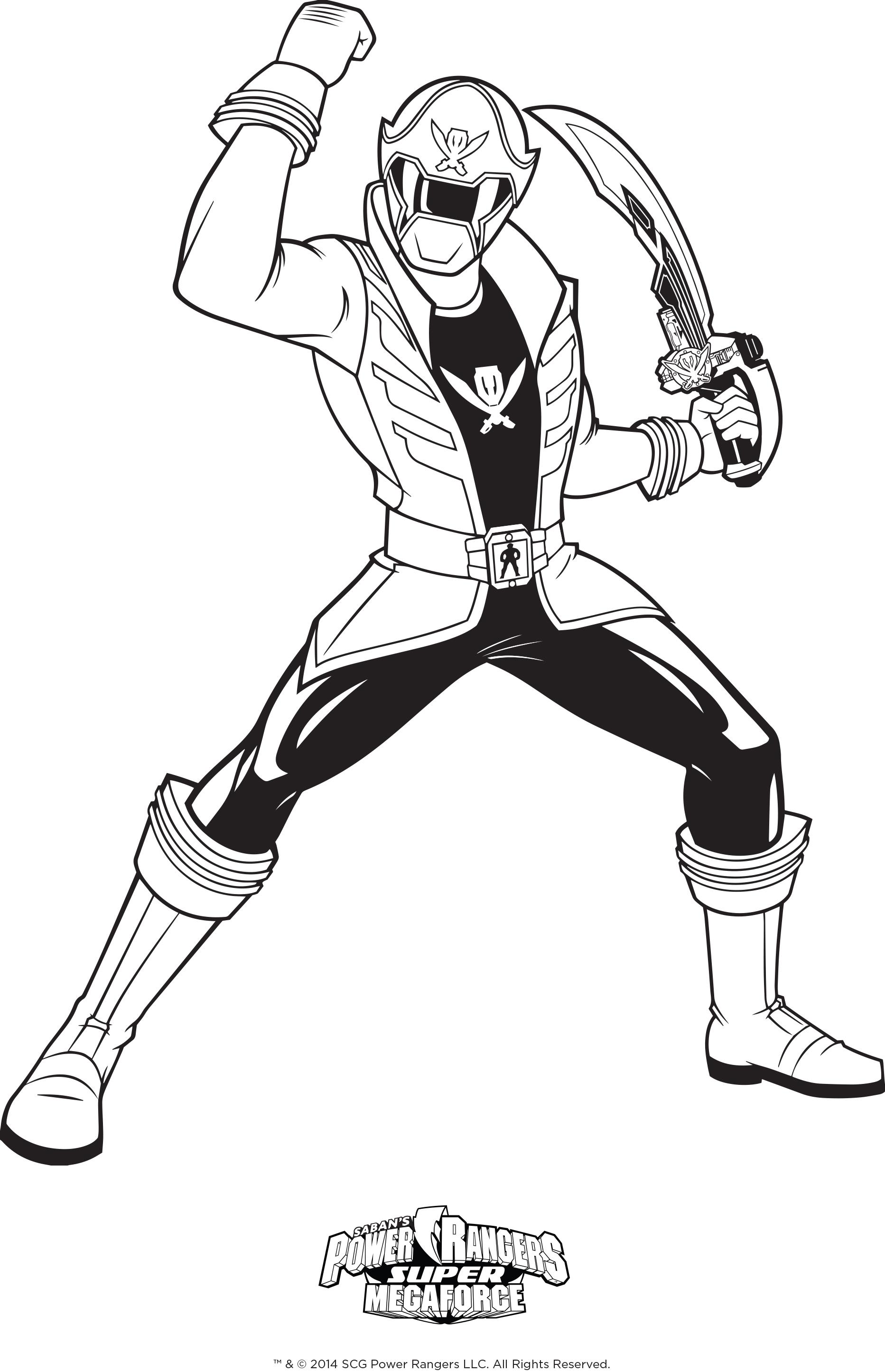 214 dibujos de Power rangers para colorear | Oh Kids | Page 2
