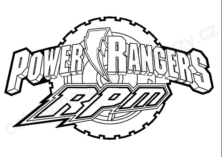 214 dibujos de Power rangers para colorear   Oh Kids   Page 3