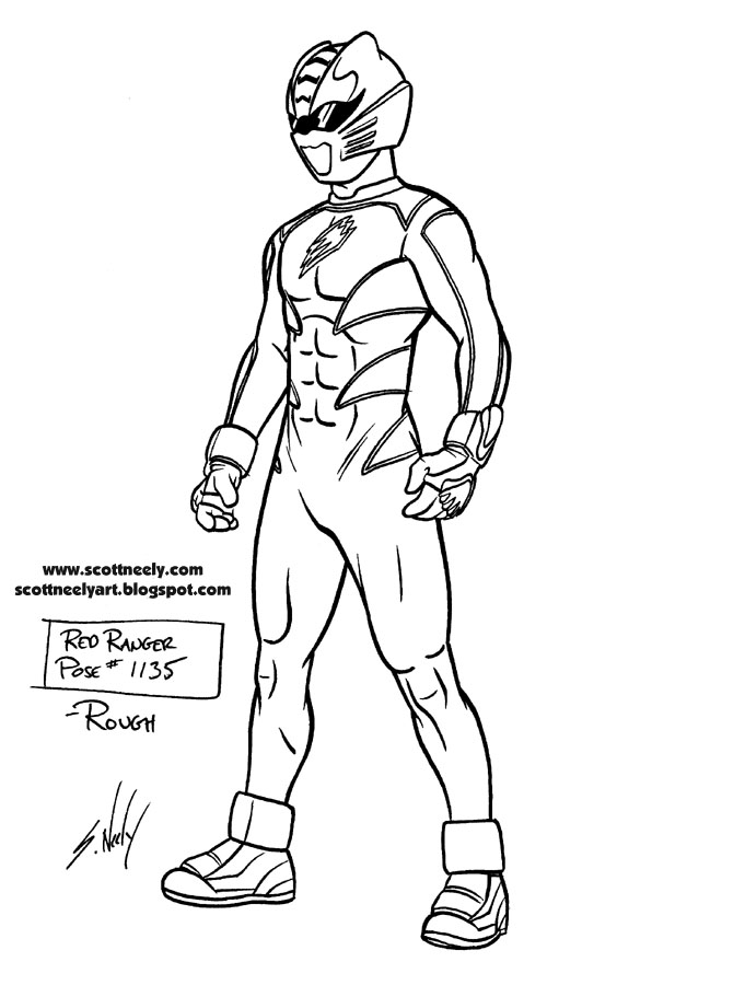 214 dibujos de power rangers para colorear oh kids page 7 - Power ranger samurai dessin ...