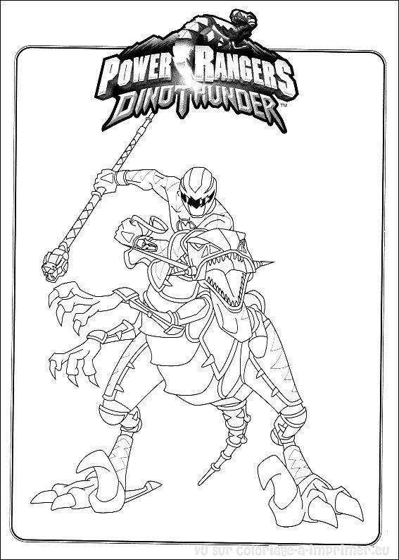 214 dibujos de Power rangers para