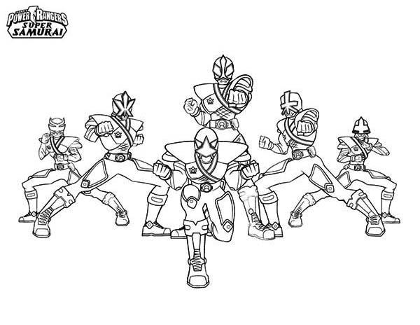214 Dibujos De Power Rangers Para Colorear Oh Kids Page 13