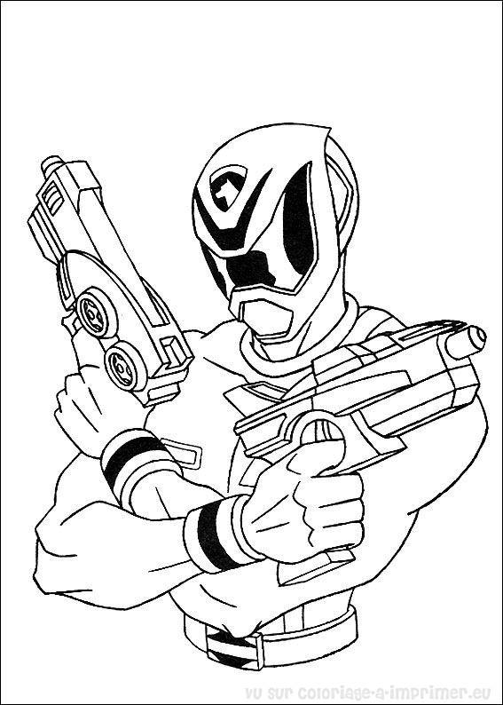 214 dibujos de Power rangers para colorear  Oh Kids  Page 15