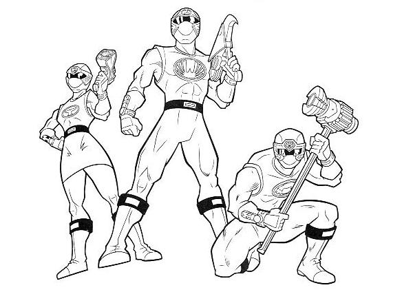 214 Dibujos De Power Rangers Para Colorear Oh Kids Page 17