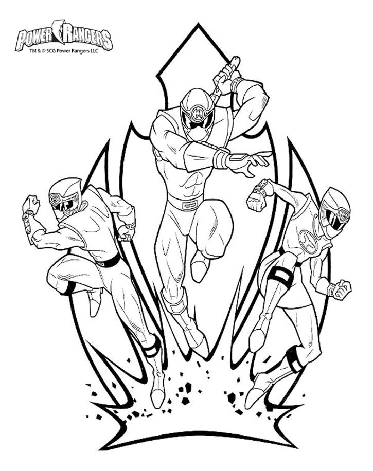 214 dibujos de power rangers para colorear oh kids page 19 - Coloriage power ranger samurai ...