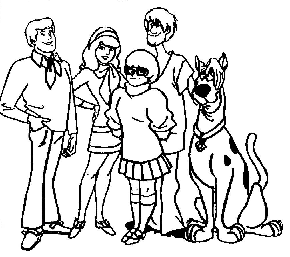 118 dibujos de Scooby doo para colorear   Oh Kids   Page 9