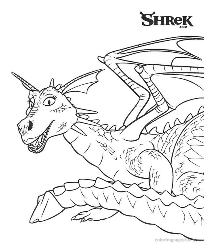 124 dibujos de Shrek para colorear | Oh Kids | Page 1