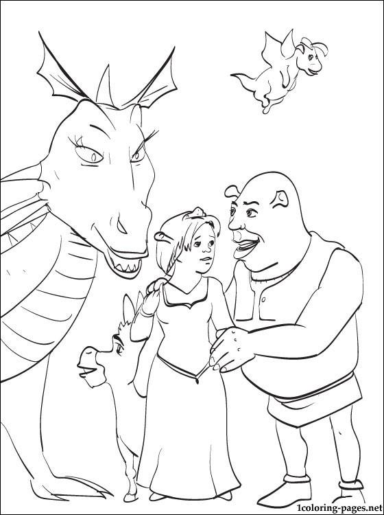 124 dibujos de Shrek para colorear   Oh Kids   Page 7