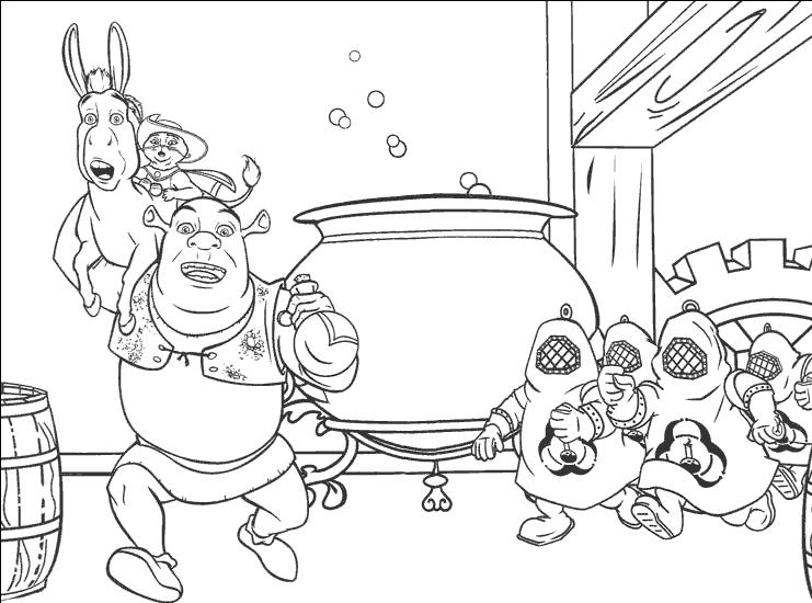 Shrek 2 Coloring Pages - Castrophotos