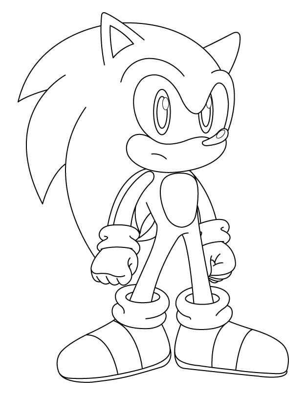 97 dibujos de Sonic para colorear | Oh Kids | Page 2