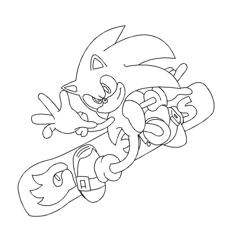 97 dibujos de Sonic para colorear | Oh Kids | Page 3