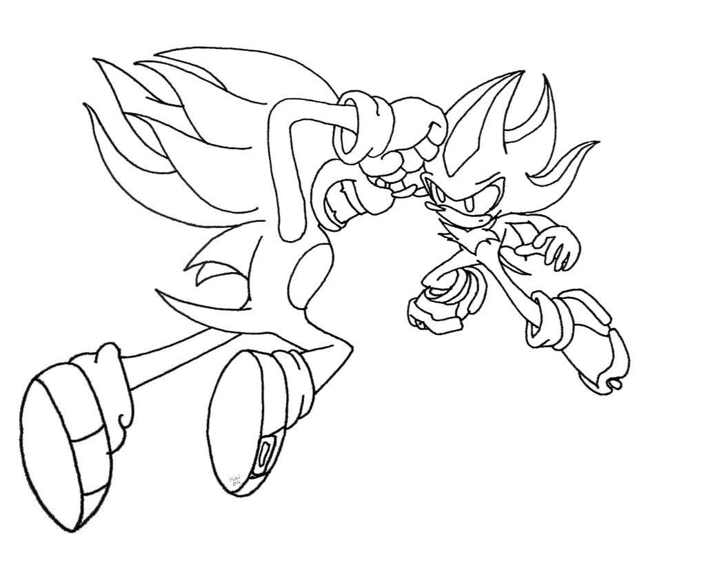 Dibujos De Sonic Para Imprimir Y Colorear: 97 Dibujos De Sonic Para Colorear