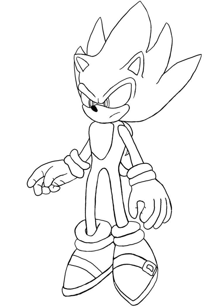 97 dibujos de Sonic para colorear  Oh Kids  Page 6