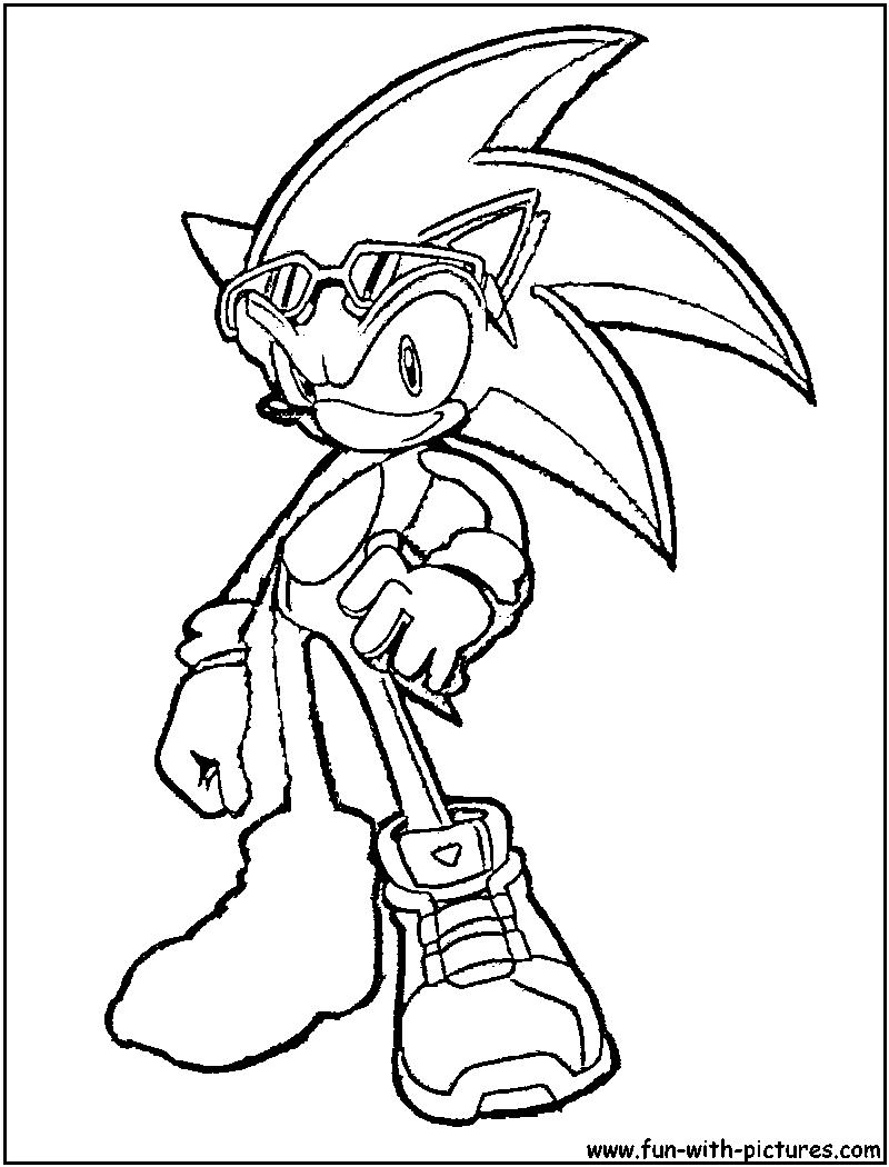 97 Dibujos De Sonic Para Colorear Oh Kids Page 7