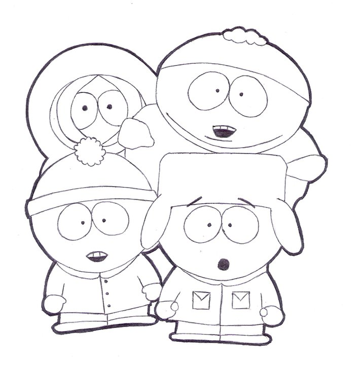 south park coloring pages butters - photo#25