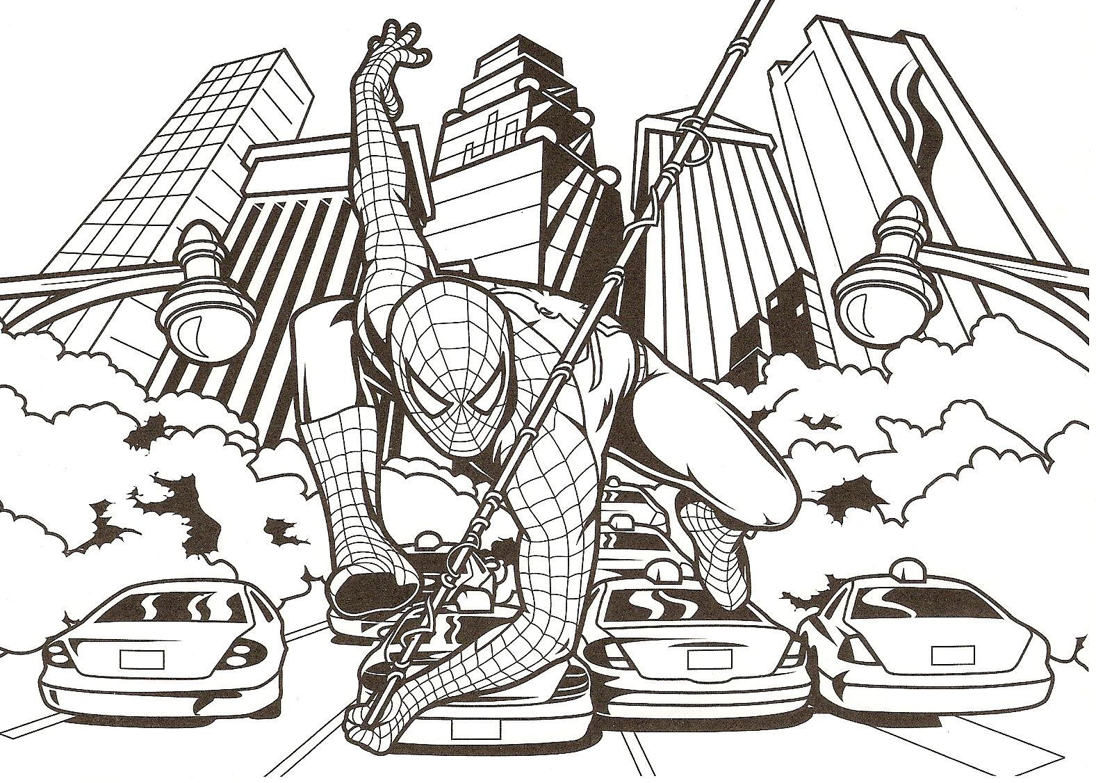 167 dibujos de Spiderman para colorear | Oh Kids | Page 1