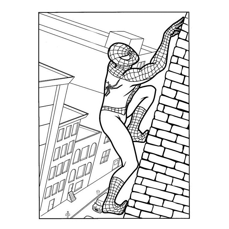 dibujo Spiderman