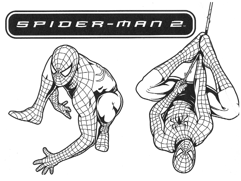 167 dibujos de spiderman para colorear oh kids page 3 - Coloriage spiderman 1 ...