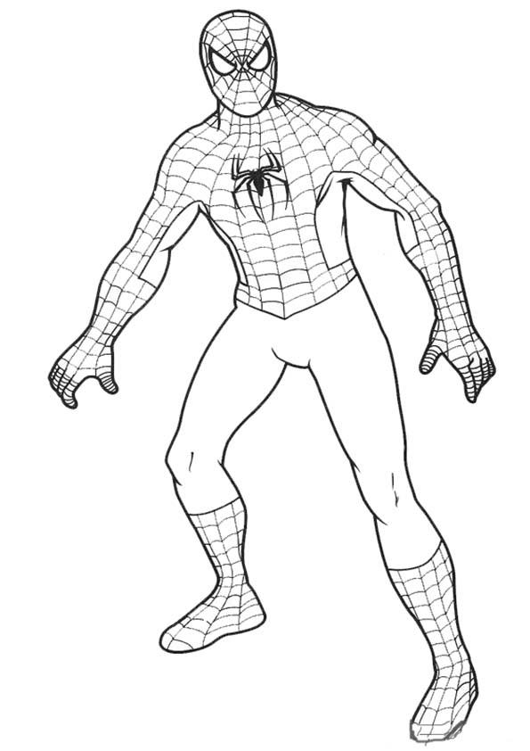 167 dibujos de Spiderman para colorear | Oh Kids | Page 4