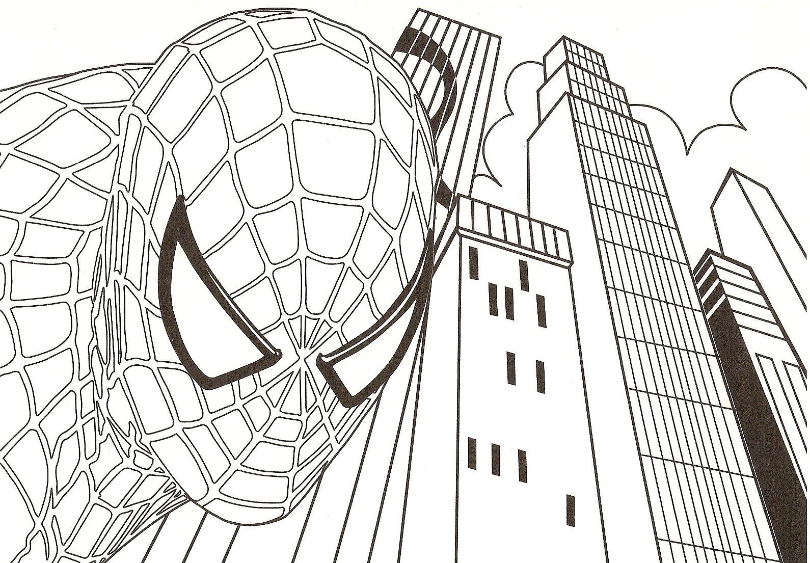 167 dibujos de Spiderman para colorear | Oh Kids | Page 7