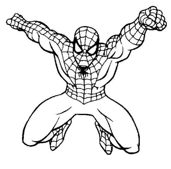 Hulk Bilder Zum Ausmalen: 167 Dibujos De Spiderman Para Colorear