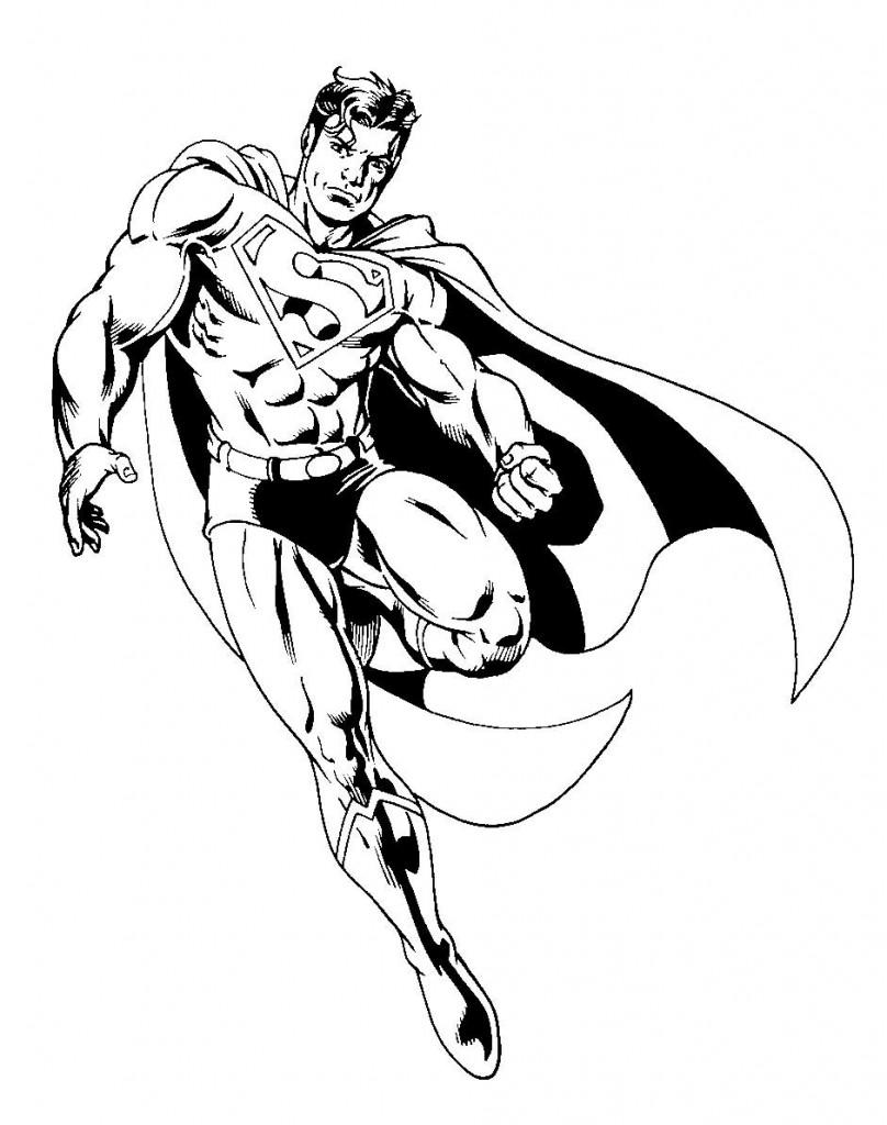 171 dibujos de Superhéroes para colorear | Oh Kids | Page 1