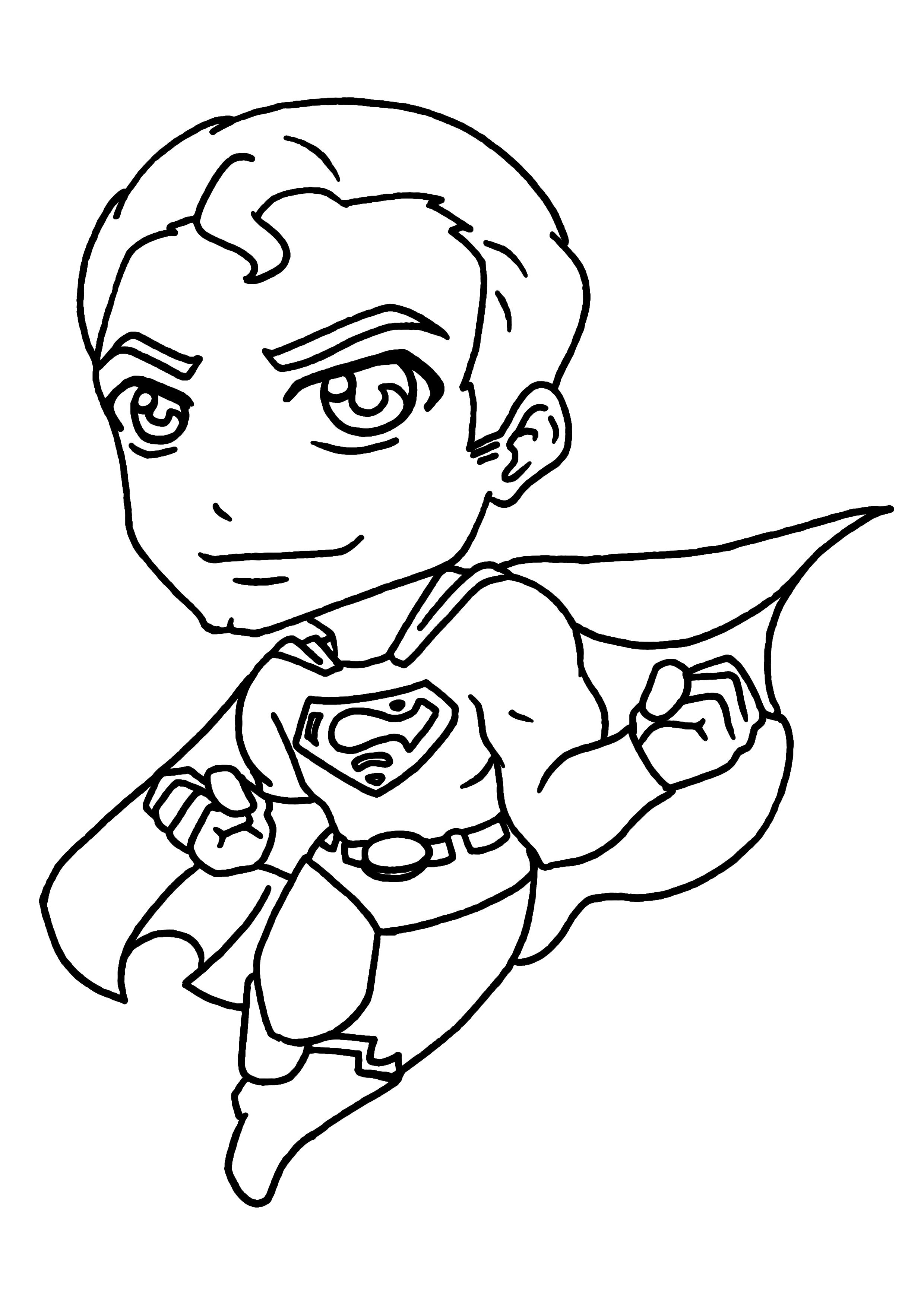 171 dibujos de Superhéroes para colorear | Oh Kids | Page 3