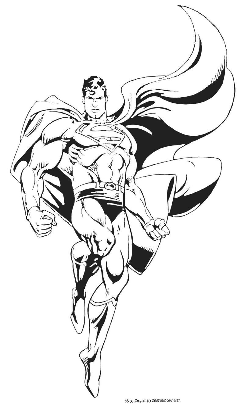 171 dibujos de Superhéroes para colorear   Oh Kids   Page 3
