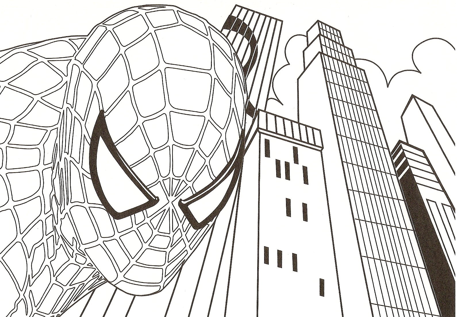 171 dibujos de Superhéroes para colorear | Oh Kids | Page 4