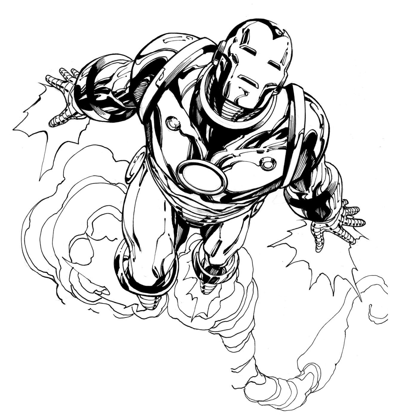 171 dibujos de Superhéroes para colorear | Oh Kids | Page 7