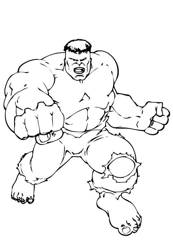 171 Dibujos De Superhéroes Para Colorear Oh Kids Page 8
