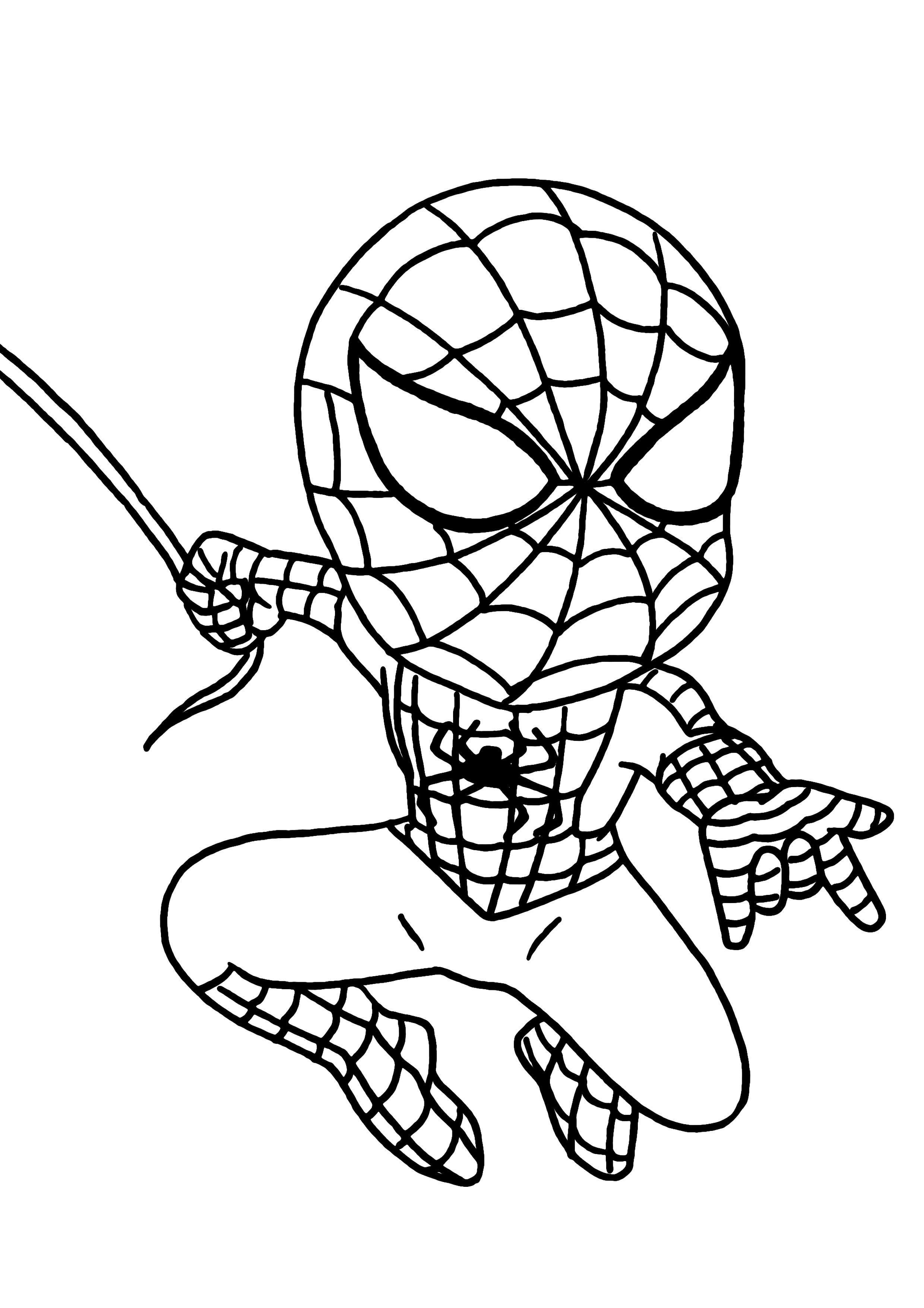 171 dibujos de Superhéroes para colorear | Oh Kids | Page 9