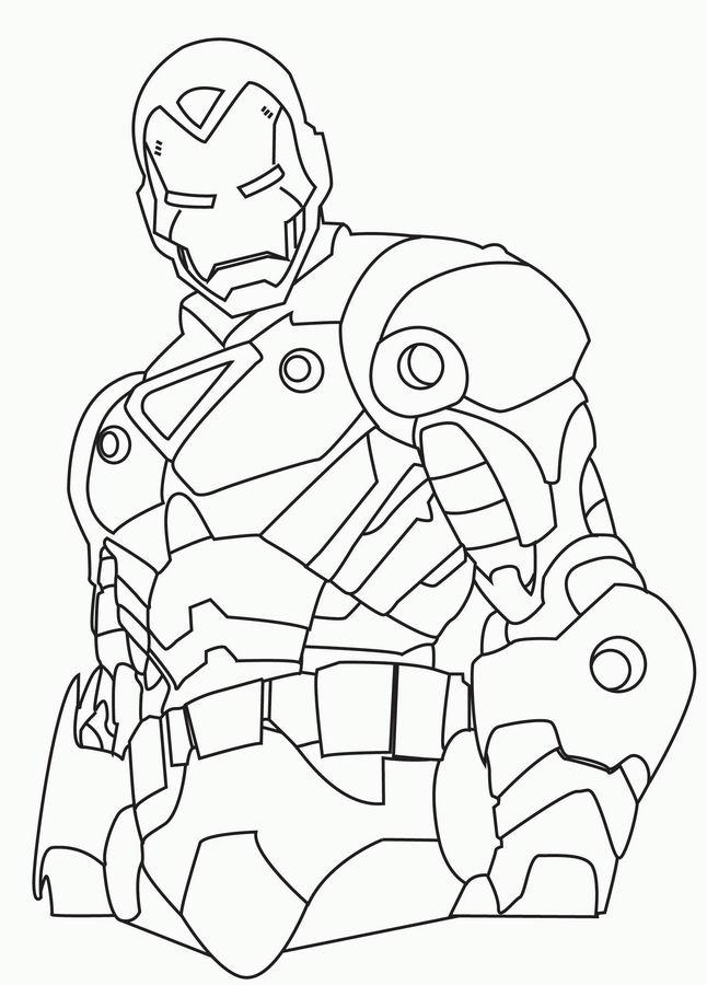 171 Dibujos De Superhéroes Para Colorear Oh Kids Page 14