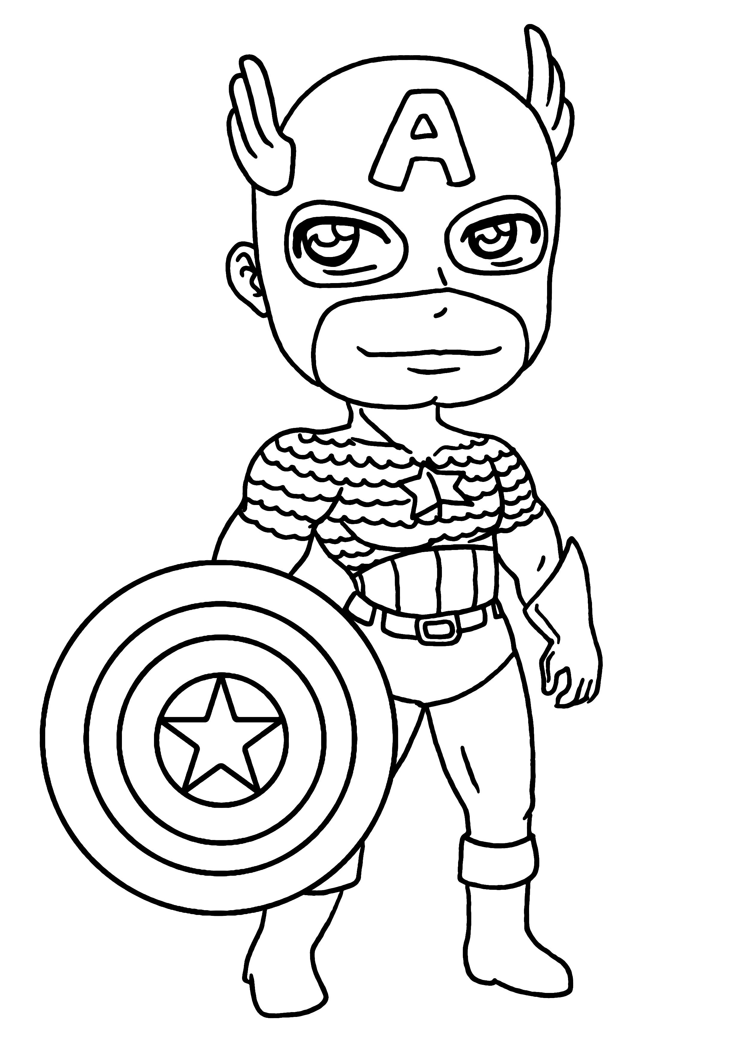 171 dibujos de Superhéroes para colorear | Oh Kids | Page 16