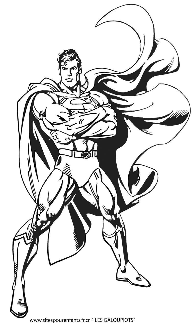 71 dibujos de Superman para colorear | Oh Kids | Page 8