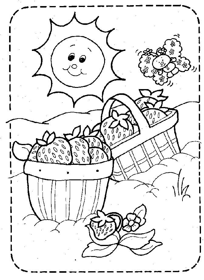 109 dibujos de Tarta de fresa para colorear   Oh Kids   Page 3