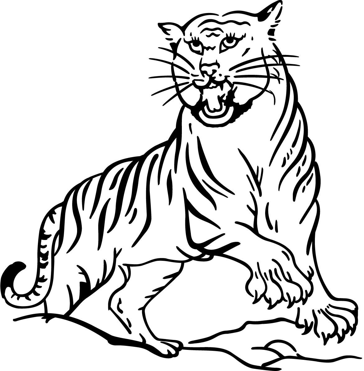 72 dibujos de Tigres para colorear | Oh Kids | Page 2