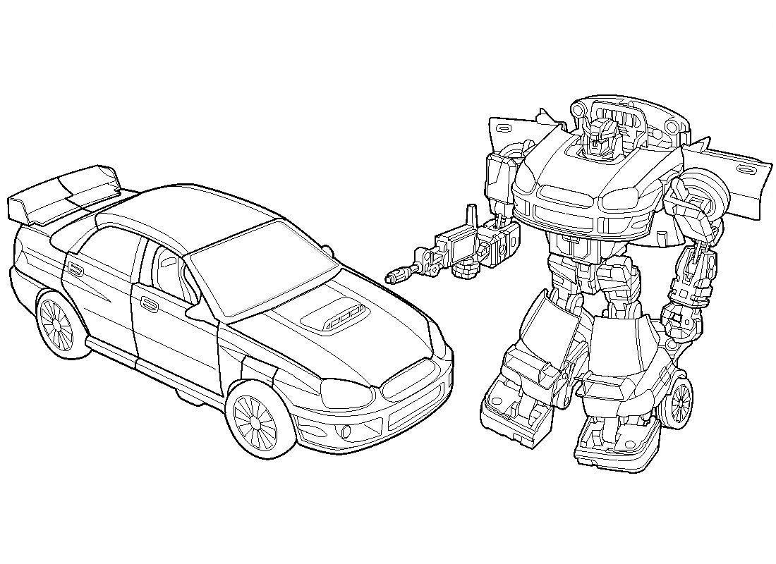 135 dibujos de Transformers para colorear | Oh Kids | Page 12