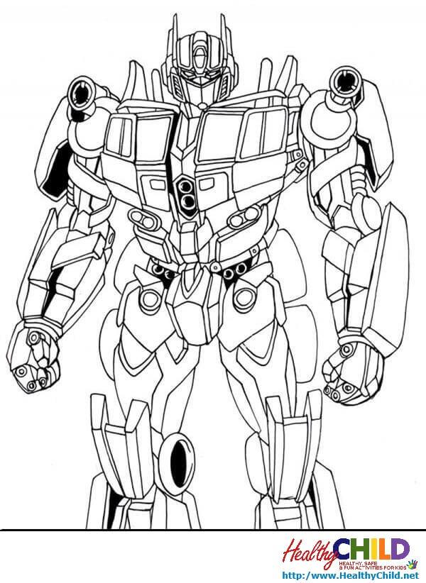 135 dibujos de Transformers para