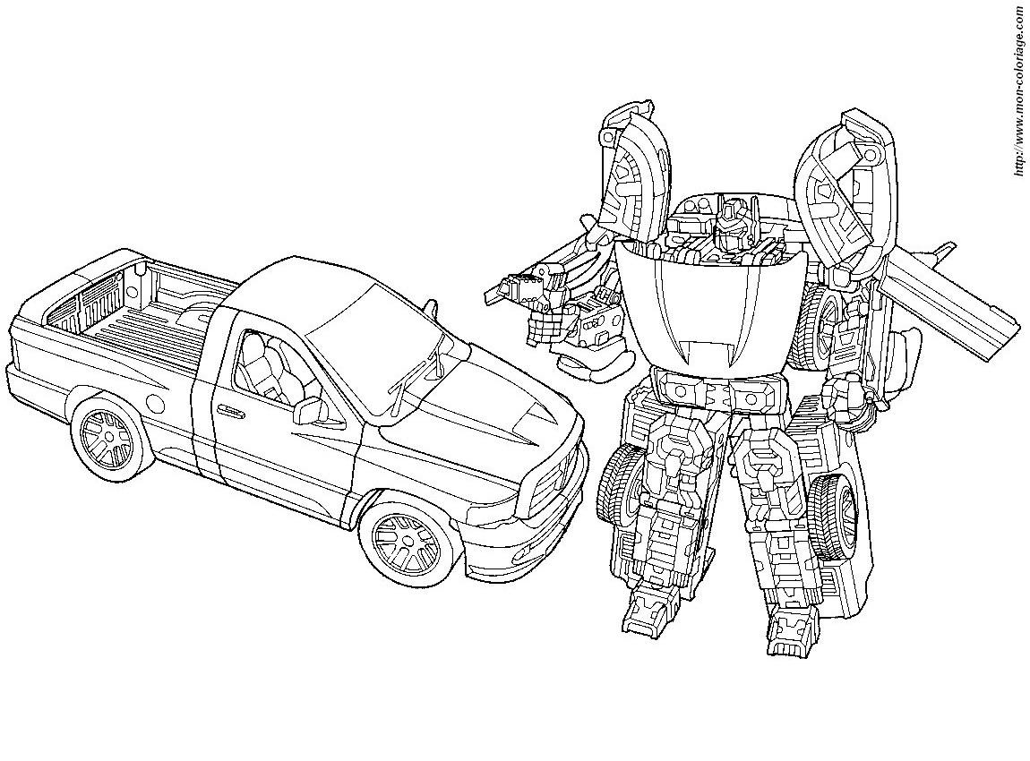 135 dibujos de Transformers para colorear | Oh Kids | Page 14