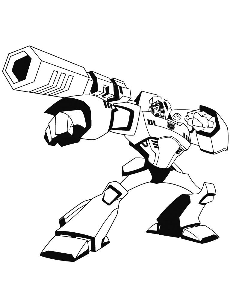 135 dibujos de Transformers para colorear   Oh Kids   Page 15