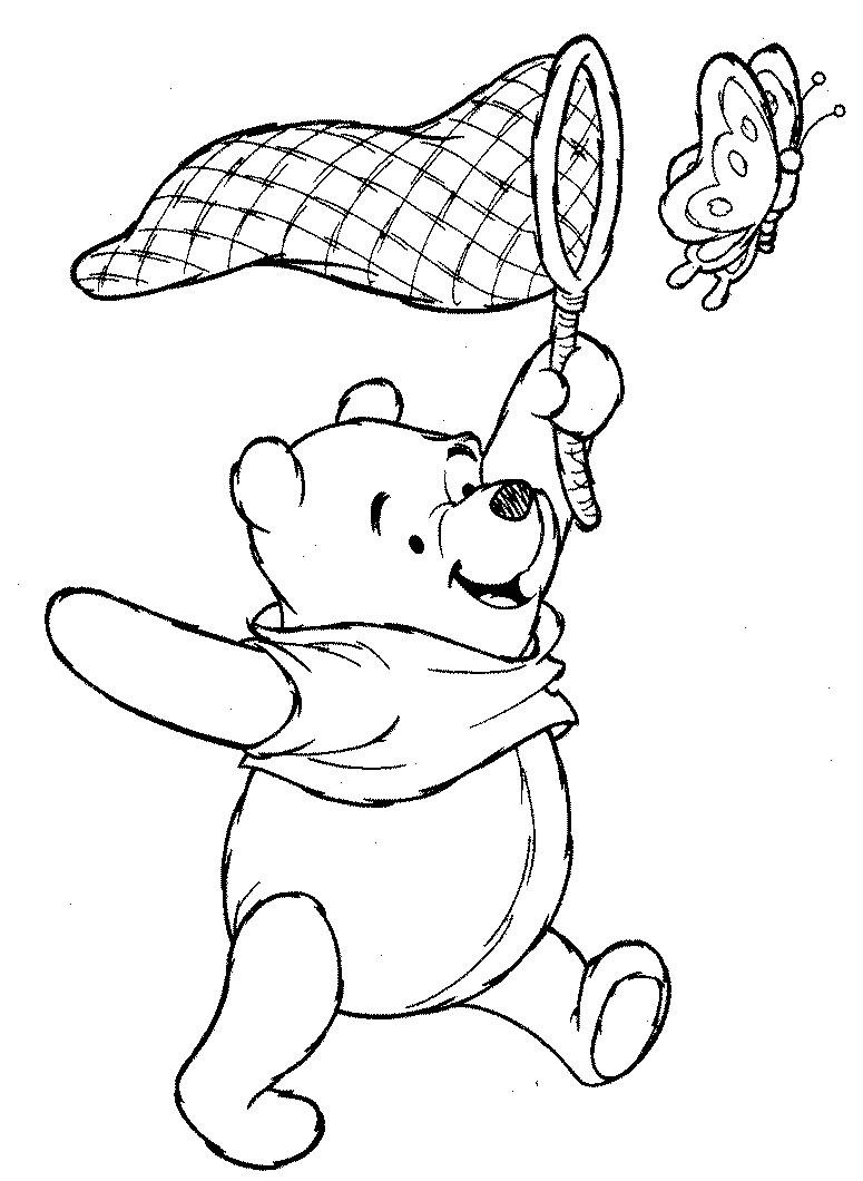 103 dibujos de Winnie the pooh para colorear | Oh Kids | Page 1