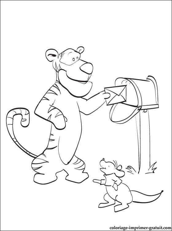 103 dibujos de Winnie the pooh para colorear | Oh Kids | Page 10