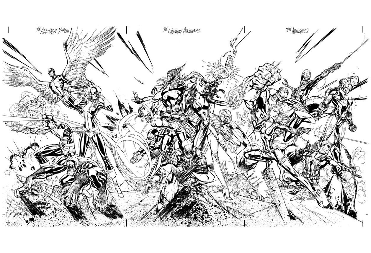 113 Dibujos De X-men Para Colorear