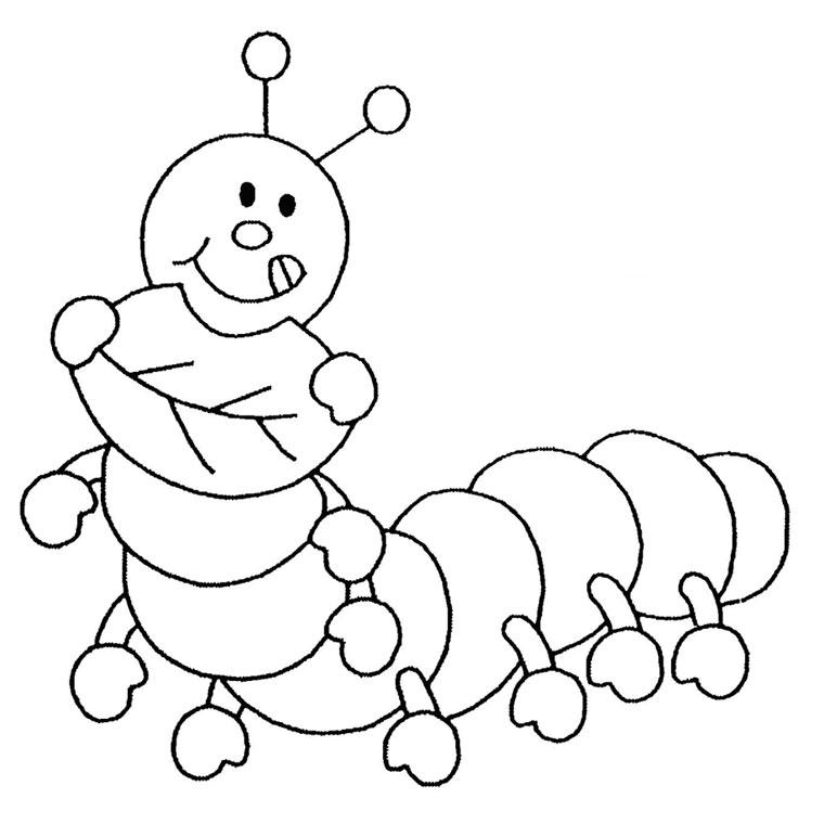 56 dibujos de Insectos para colorear | Oh Kids | Page 1