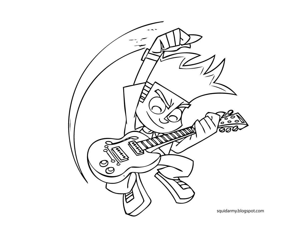 36 dibujos de Johnny test para colorear | Oh Kids | Page 5