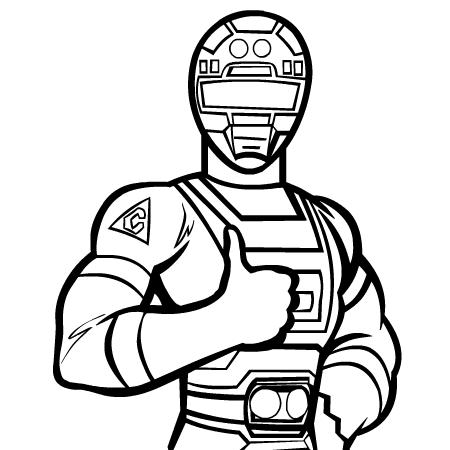 214 dibujos de Power rangers para colorear | Oh Kids | Page 1